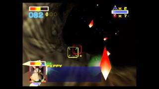 Star Fox 64 Playthrough: Asteroid Field Medal