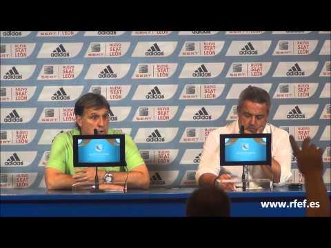 Gerardo Martino analiza la ida de la Supercopa de España tras empatar ante el Atlético