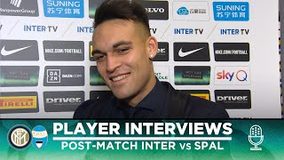 INTER 2-1 SPAL | LAUTARO + LAZARO + VECINO EXCLUSIVE INTERVIEWS [SUB ENG]