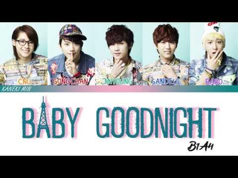 B1A4 비원에이포 - 잘자요 굿나잇 (BABY GOOD NIGHT) COLOR CODED LYRICS HAN/ROM/ENG