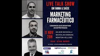 TALK SHOW - 11 NOVEMBRO 2020 - MARKETING FARMACÊUTICO