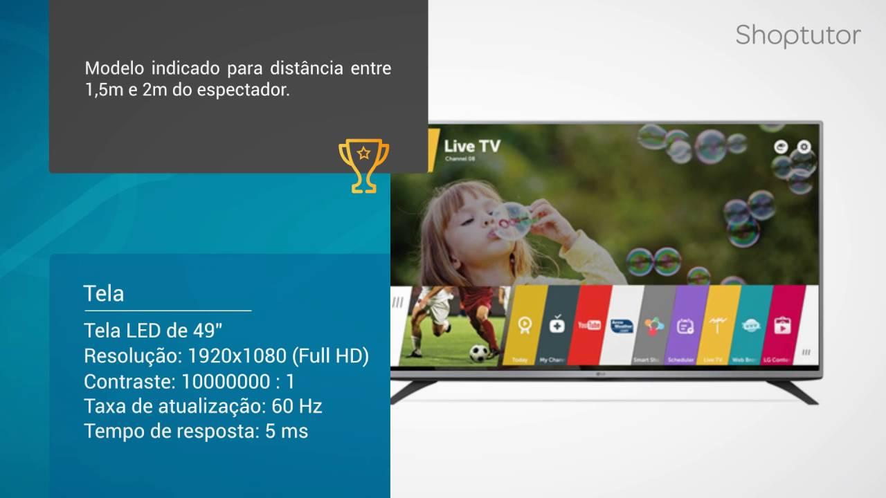Smart TV LG 49LF5900 LED Full HD de 49 Polegadas YouTube