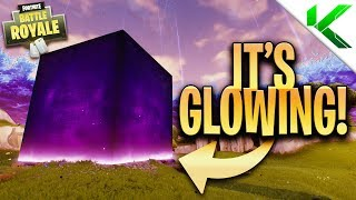 *NEW* THE CUBE IS GLOWING! The Cube Event! - Fortnite: Battle Royale