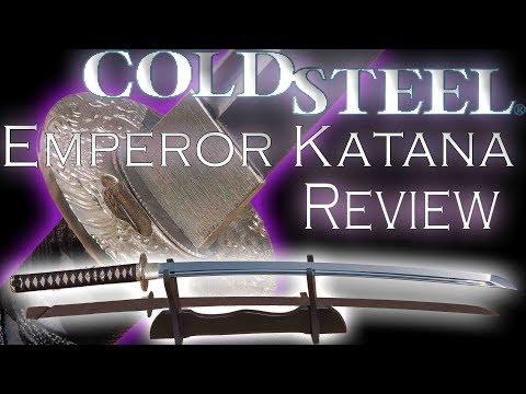 Cold Steel Emperor Katana Review
