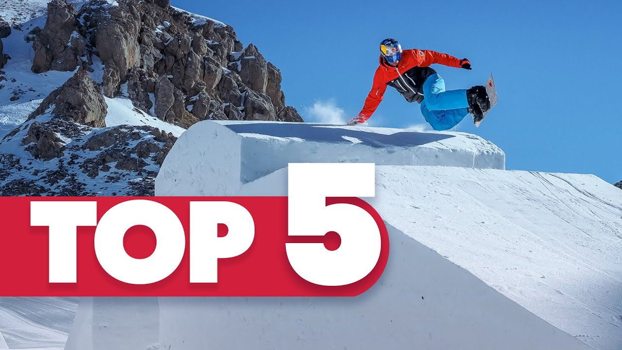 Download Snowboarding World's Craziest Videos   Red Bull Top 5