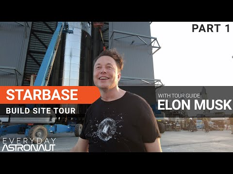 Starbase Factory Tour with Elon Musk [Part 1]