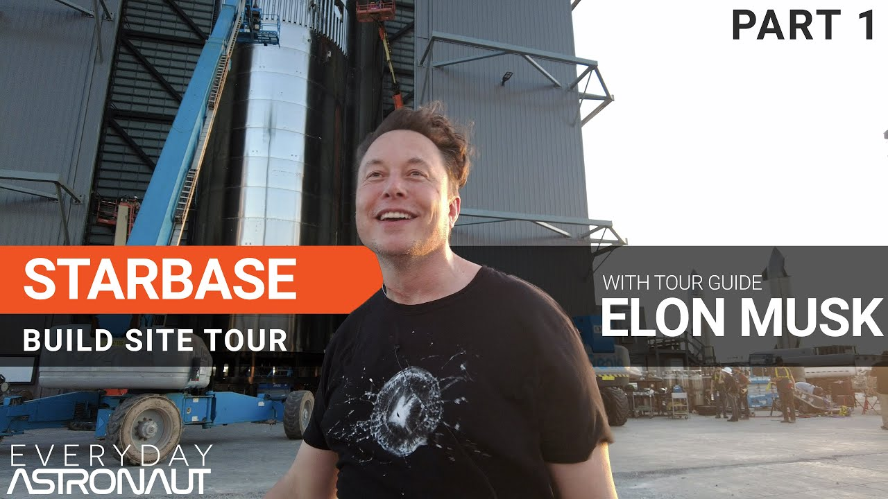 Download Starbase Tour with Elon Musk [PART 1]