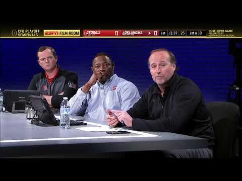 2017-18 Rose Bowl (Coaches Film Room) - #3 Georgia vs. #2 Oklahoma (HD)