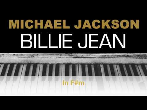 Michael Jackson - Billie Jean In 6/8! Karaoke Chords Instrumental Acoustic Piano Cover Lyrics