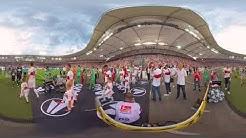 VR 360 Grad Einlauf   VfB Stuttgart