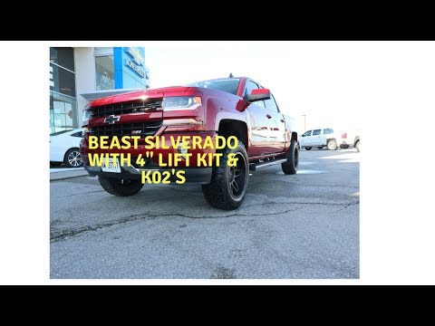 "Turning a Regular Silverado into a beast! 4"" Lift Kit, New Tires & Wheels!"