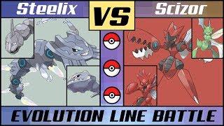 Mega STEELIX vs. Mega SCIZOR - Mega Evolution Line Battle (Pokémon Sun/Moon) MP3