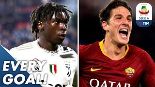 Young Stars Kean & Zaniolo Score AGAIN! Great Strikes from Iličić & Valzania | EVERY Goal | Serie A