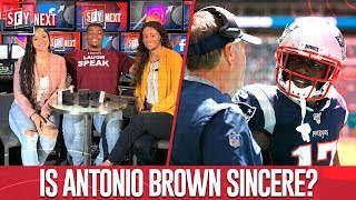 Antonio Brown apologizes to the Patriots & LeBron is to blame for low NBA ratings | SFY NEXT