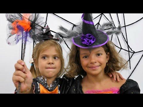 Elis cadı Katy'nin yardımıyla cadı oluyor
