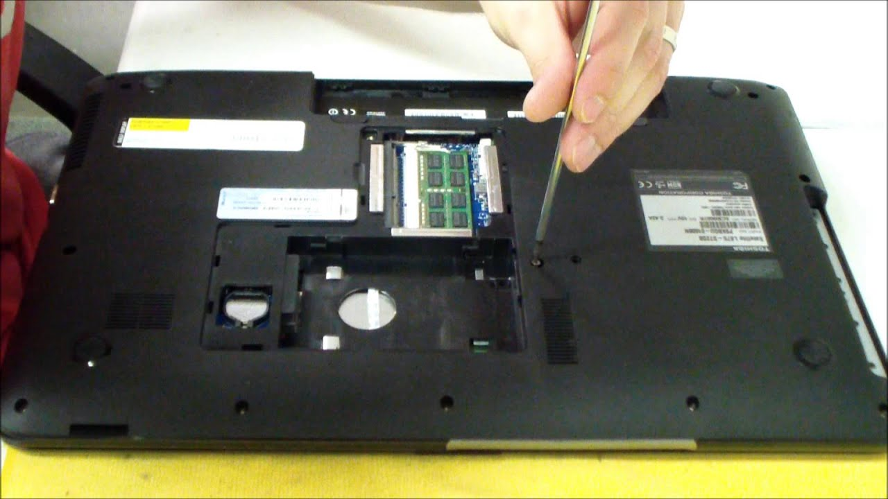 Toshiba Satellite L875D AC DC Power Jack Repair - YouTube