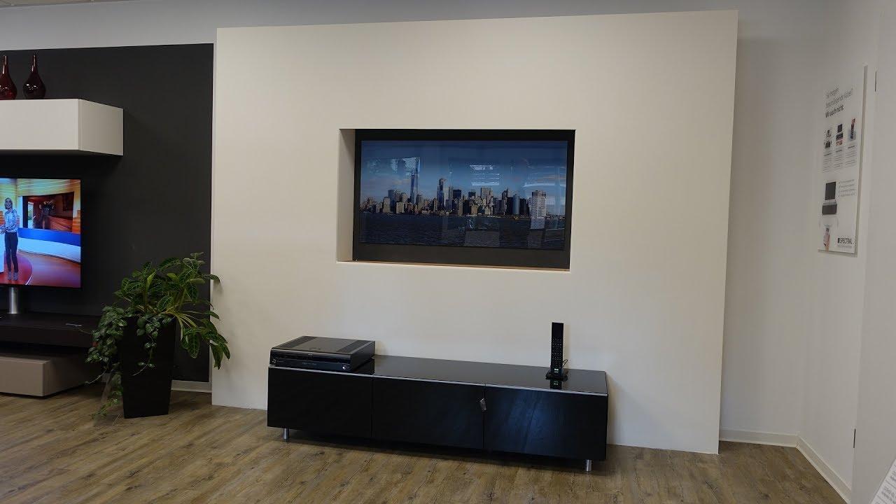 unsichtbare lautsprecher versteckter fernseher so machen wir das youtube. Black Bedroom Furniture Sets. Home Design Ideas