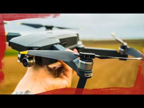 DJI Geräuscharme Low-Noise Propeller Test mit Mavic Pro | Deutsch