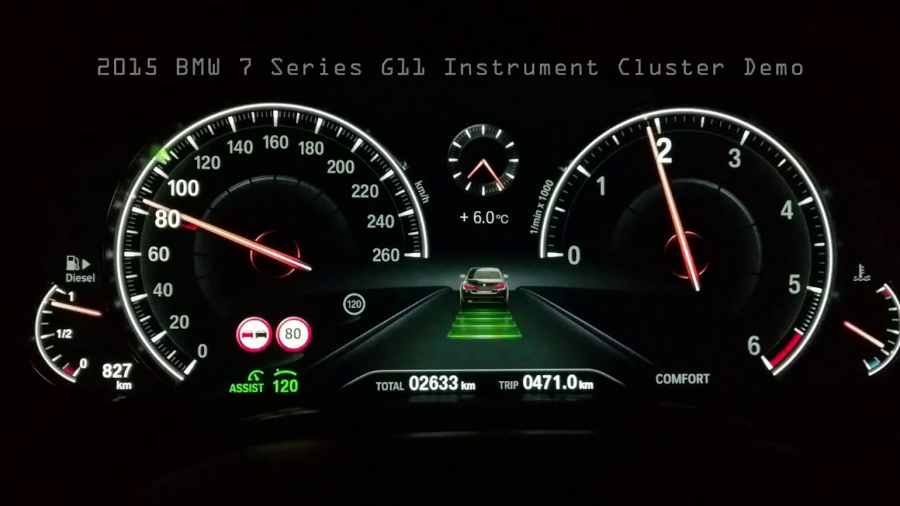 2018 Bmw Dynamic Digital Instrument Cluster - New Car ...