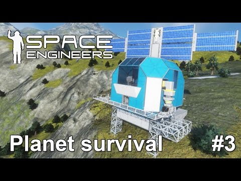 Space engineers: Recharge dock for Battery exploration ship