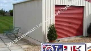 Oz Uk Csb  Steel Building Domestic Garage