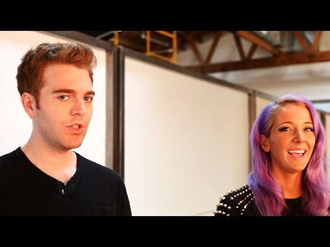 Jenna Marbles & Shane Dawson: Behind the Scenes of Their Variety Photo Shoot