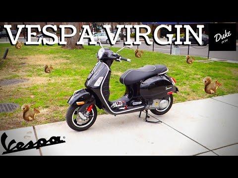 I Rode A Vespa