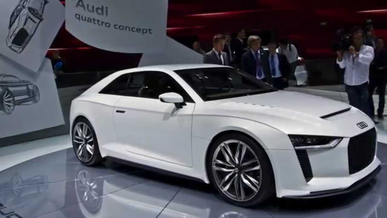 audi concept cars e tron r8 a5 a8 hybrid youtube. Black Bedroom Furniture Sets. Home Design Ideas