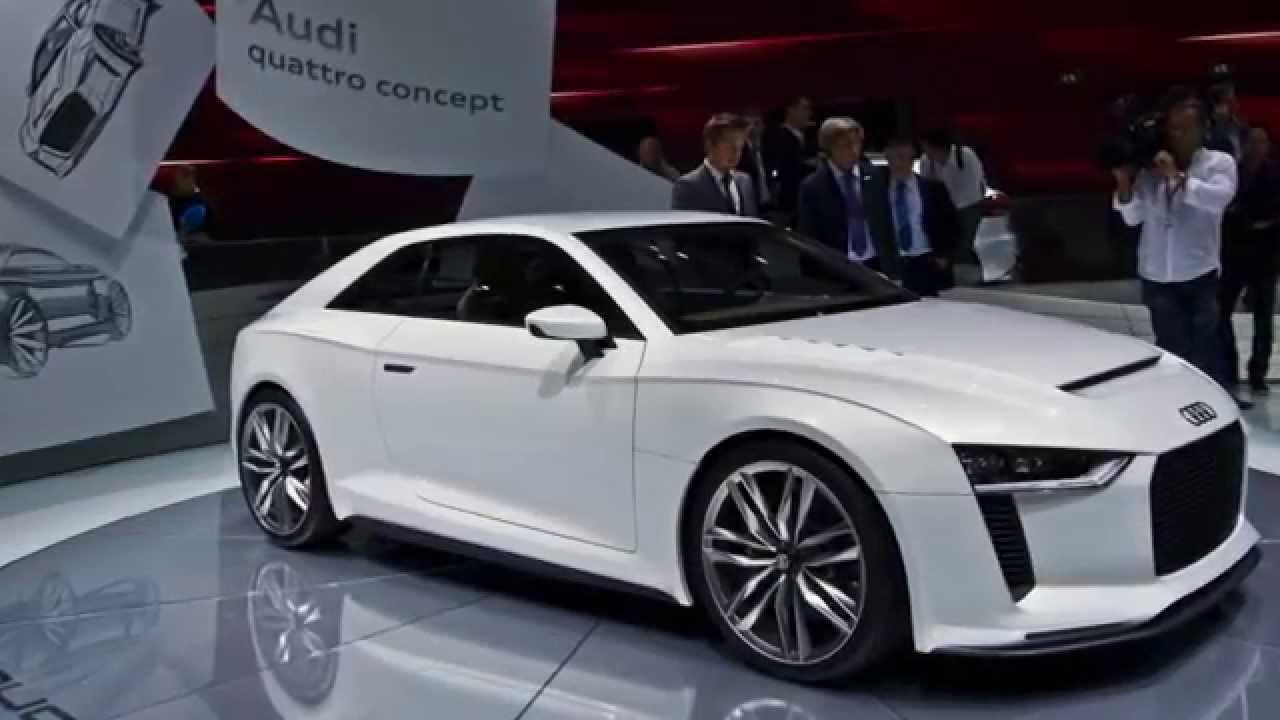 Audi Concept Cars ETron R A A Hybrid YouTube - Audi hybrid cars