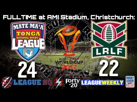 WLF TV; #WCqf2 - Tonga presser