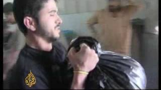 Israeli blockade forces Gazans to burn chicks alive -05May08 thumbnail