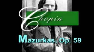 Mazurkas Op. 59: No 3 In F Sharp Minor