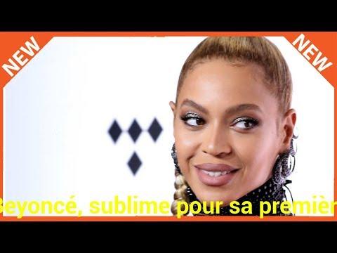 Beyoncé, sublime pour sa première sortie publique avec Jay-Z depuis la naissance des jumeaux
