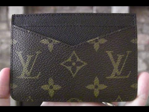 online retailer dd7ba 38a8e Louis Vuitton Monogram Card Holder REVIEW