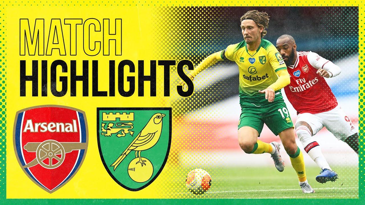 HIGHLIGHTS | Arsenal 4-0 Norwich City
