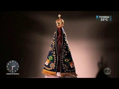 Aparecida deve receber mais de 1 milhão de pessoas para celebrações | SBT Notícias (11/10/17)