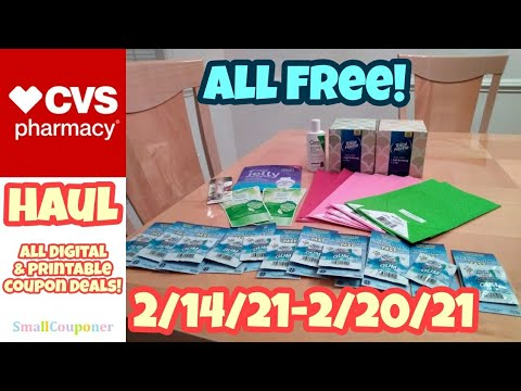 CVS Haul 2/14/21-2/20/21! All Digital and Printable Coupon Deals!