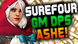 SUREFOUR GM DPS MAIN - ASHE! [ OVERWATCH SEASON 22 ]