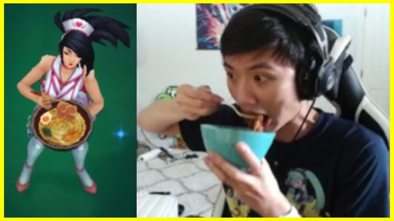 Boxbox Cosplays Eating Akali - Best of LoL Streams #406