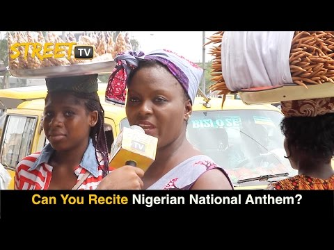 Recite the Nigerian National Anthem? Watch Funny Answers
