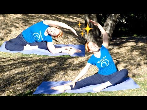 WholyFit in 2 Levels, Christian Fitness Stretching Workout