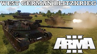 WEST GERMAN BLITZKRIEG | A Fustercluck in ArmA 3 Global Mobilization