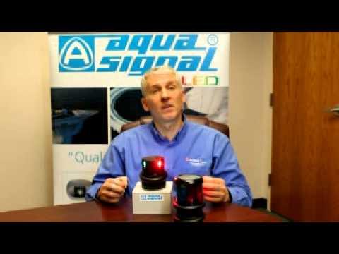 hqdefault aqua signal led navigation light quick fit demo youtube aqua signal series 34 wiring diagram at panicattacktreatment.co
