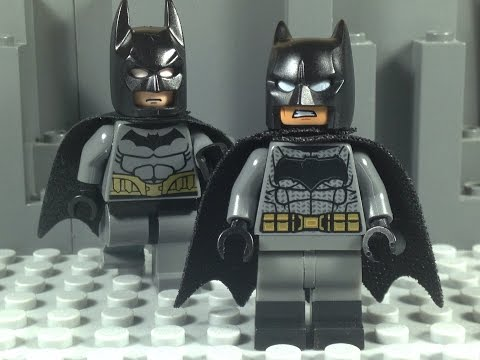 Lego Batman vs Batman
