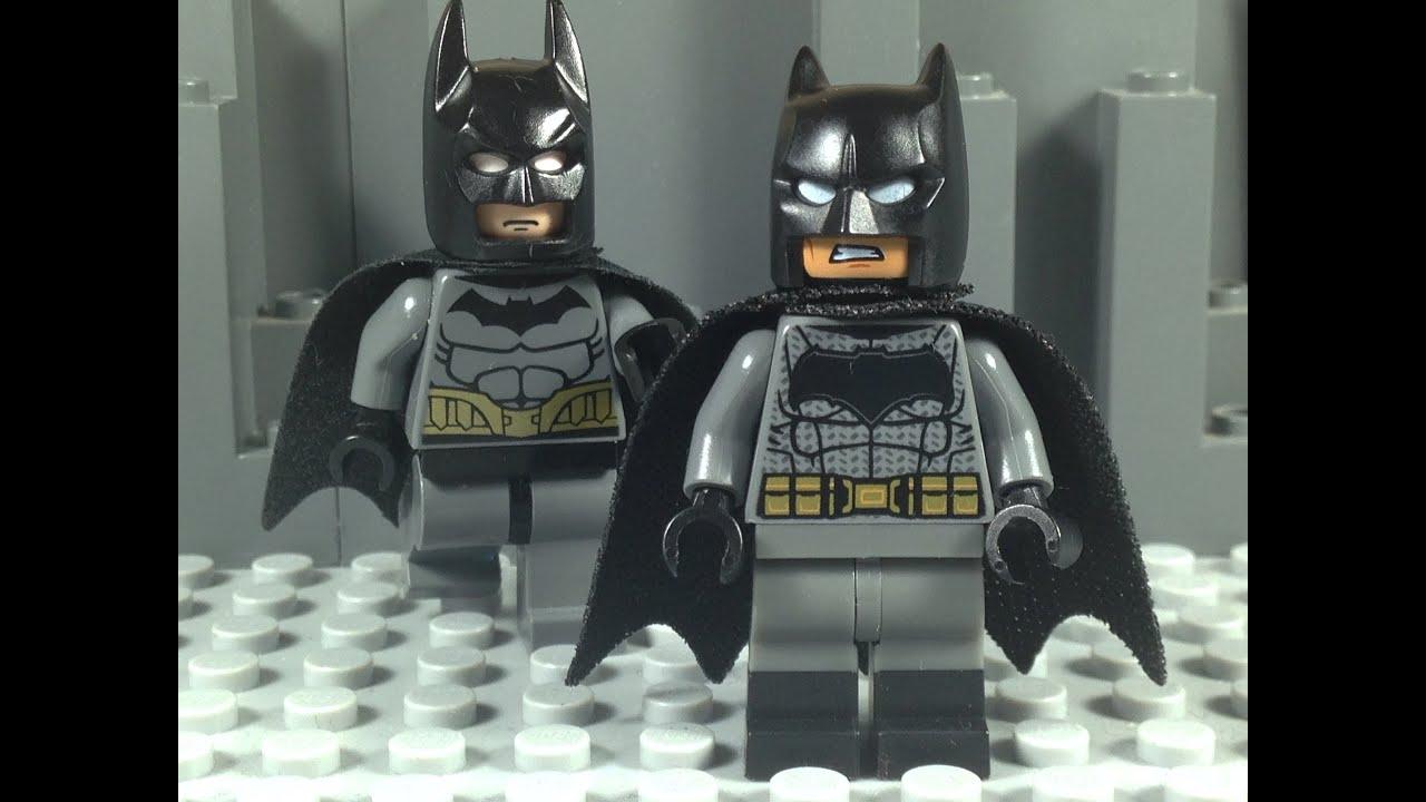 Lego Batman vs Batman - YouTube