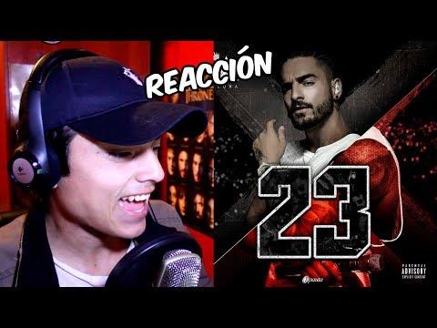 Video Reacción | Maluma - 23 (Audio oficial) BRUTAL