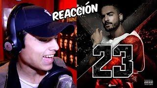 Video Reacción   Maluma - 23 (Audio oficial) BRUTAL
