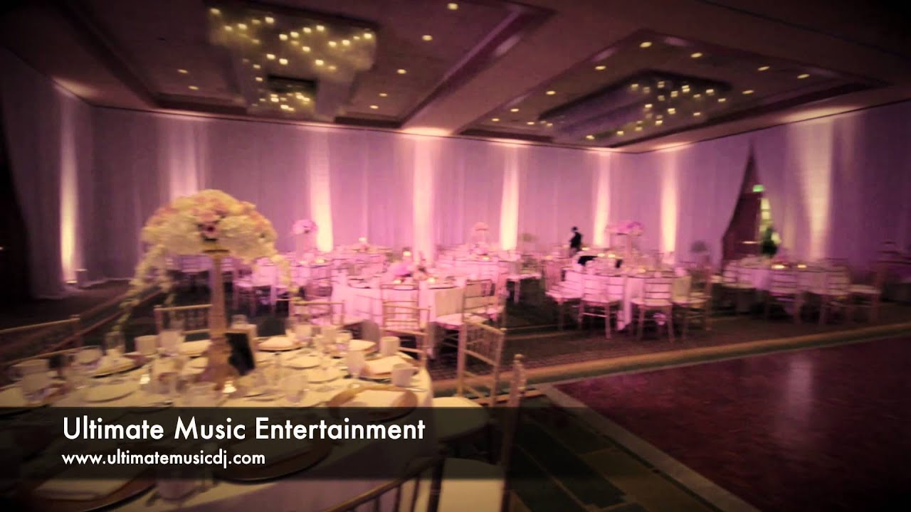 Sheraton Cerritos Hotel Wedding Receptions - YouTube