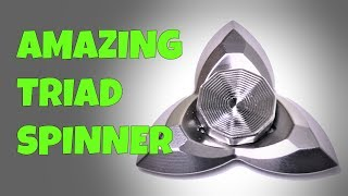 TRIAD SPINNER AND GIVEAWAY! - DAMNED DESIGNS FIDGET TOY