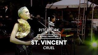"""St. Vincent performs """"Cruel"""" - Pitchfork Music Festival 2014"""